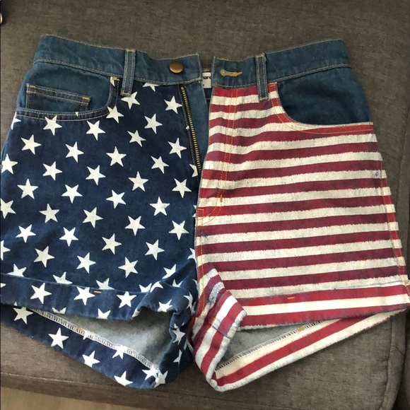 American Apparel Pants - American Apparel high waisted shorts